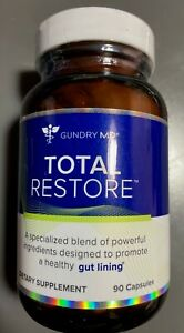 Gundry Total Restore Healthy Gut Lining 90 Capsules New Sealed Free Ship
