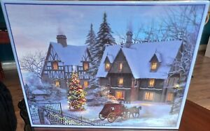 CHRISTMAS PAST JIGSAW PUZZLE 1000 PIECE EXPRESS GIFTS NEW SEALED DOMINIC DAVISON