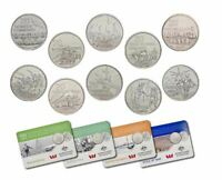 2016 ANZAC 20c 10 X Coin Collection