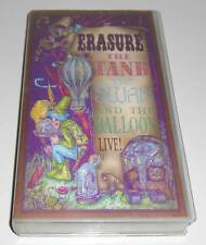 ERASURE - THE TANK THE SWAN AND THE BALLOON LIVE!  - UK VHS VIDEO PAL