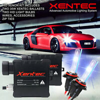 Xentec Xenon Light HID KIT 5000K 5K OEM White H4 H7 H10 H11 H13 9006 880 D4S H1