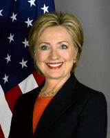 2009 Secretary of State HILLARY CLINTON Glossy 8x10 Photo Poster Politician