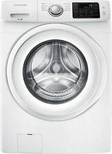 Samsung 4.2 Cu. Ft. 8-Cycle High Efficiency Front Loading Washer White NEW