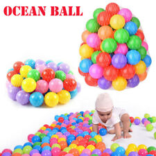 500 pcs Baby Kid Pit Toy Game Swim Pool Soft Plastic Ocean Ball 5.5cm US Stock