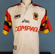 Authentic Bradford Bulls Home Rugby Shirt Size Medium 1998 asics