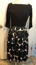 1950s Gigi Young Dress Black Pinup Party Cocktail Holiday Swing DRESS Small 4 6