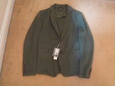 NEW DIESEL JIME model 100% COTTON 2 BUTTON CASUAL BLAZER JACKET GREEN size SMALL