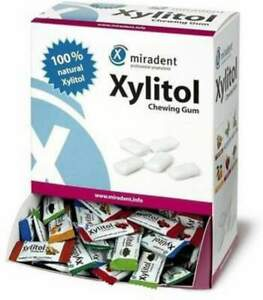 Xylitol Chewing Gum Assorted Flavors by Hager Pharma, 200 piece