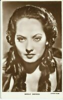 Merle Oberon English Actress Movie Star 1920s Real Photo Postcard