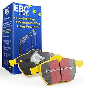 EBC Yellow Stuff Rear Brake Pads for 12-15 Porsche 911 Carrera S Cast Iron Rotor