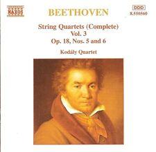 Beethoven - String Quartets (Complete), Vol.3 / Kodály Quartet