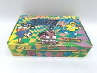 Vintage General Box Company School Pencil Box Skateboarding 1980s 90s