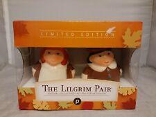 Publix The Lilgrim Pair Pilgrim Salt Pepper Shakers Encore Edition 2005 NEW