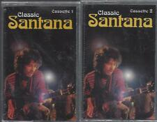 CLASSIC SANTANA TAPES 1 & 2 Evil Ways Carnival Gypsy Queen Winning NEW CASSETTES