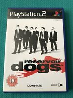Reservoir Dogs - Sony PlayStation 2 Game PS2 - UK PAL - complete