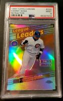 1999 Topps Chrome Refractor Sammy Sosa #229 PSA 9 Mint Condition!!