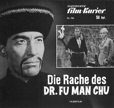 MFK 186 | DIE RACHE DES DR. FU MAN CHU | Christopher Lee | Horst Frank