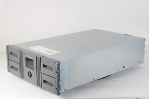 HP Storageworks MSL4048 Tape Library 48 slot 2 Drives W/ AJ042A SPARE 453907-001