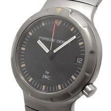 Auth PORSCHE DESIGN x IWC Ocean 500 Date 3523-001 Automatic Titanium Men's watch