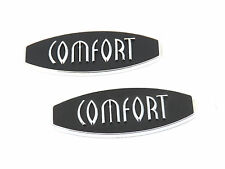 2 x Echt New SKODA COMFORT WING BADGE For Fabia TDi SDi Hatch Berlina 99-07