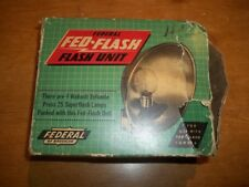 Camera FLASH FEDERAL FED Flash Unit CAMERA PHOTOGRAPHY Equipment Vintage