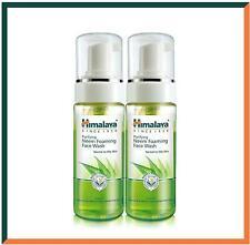 Himalaya Herbals Neem Face Wash Foam with Turmeric   SLS Free  150ml (2 Pack)