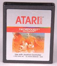 SWORDQUEST Earthworld Atari 2600 Game Cartridge-Video Games~Vintage 1982-2656