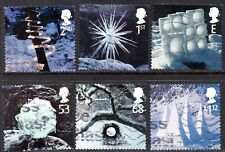 2003 Sg 2410/5 Christmas Ice Sculptures Used Set of 5