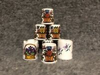 Vintage Mini Candle Holders West Germany Funny Design Floral Taper Candleholder