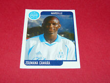179 ZOUMANA CAMARA OLYMPIQUE MARSEILLE OM PANINI FOOT 2002 FOOTBALL 2001 2002