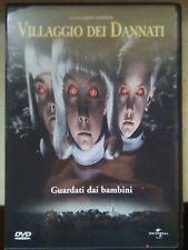 Vendo film dvd VILLAGGIO DEI DANNATI (lotto) FUORI CATALOGO - John Carpenter