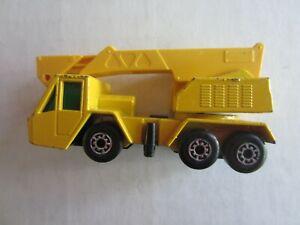 1976 Matchbox Lesney #49 Superfast Crane Truck