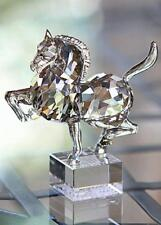 SWAROVSKI CRYSTAL ZODIAC HORSE SILVER SHADE 995744 MINT BOXED RETIRED RARE