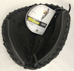 """NEW Wilson A360 AO3LB17 31.5"""" Youth Baseball Catchers Glove Mitt LHT Left Throw"""