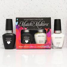 CUCCIO Veneer Match Makers - VERONA LACE 6003 Soak Off Gel &Lacquer Duo Nail Kit