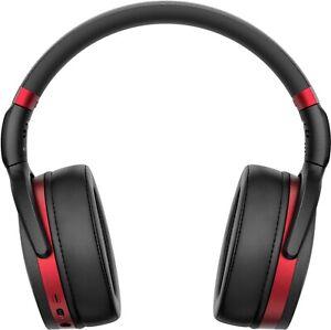 Sennheiser HD 458BT Wireless Noise Cancelling Headphones (Black/Red)  - HD 458BT