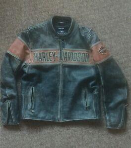 Harley davidson victory lane leather jacket large