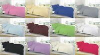 NEW 100% EGYPTIAN COTTON 200 800 THREAD COUNT FITTED / FLAT / VALANCE SHEETS