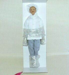 Miniature Merrymeeting Chef Doll Marcel: Dollhouse Miniatures 1:12