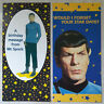 Star Trek Mr Spock Birthday Cards Hallmark Official 1994 Australia set of 2