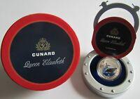 Pitcairn 2 Dollars 2013 Cunard Lines Queen Elizabeth 1 Oz Silber