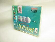 Tom Kite Korega Golf Da Brand NEW Item ref/111 3DO REAL Panasonic Japan Game 3d