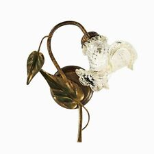 Applique Country With Cup Murano Oro. Lamp Shabby Chic 1xE14