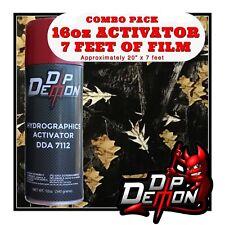 16oz Hydrographic Film Activator Dark Woods Camo Hydro Dip Dipping Wizard