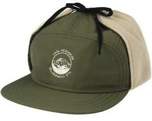 New Licensed Coal Tracker Hat Moss Green Size M - Retail Last Ones! B116