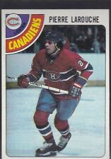 1978-79 TOPPS HOCKEY PIERRE LAROUCHE #35 CANADIENS NMMT *54780