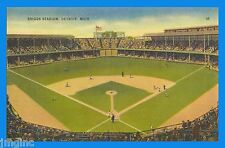 Briggs Stadium, Detroit - Postcard reproduction