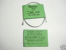 """x85-2 CABLES de FREIN AV VELO VINTAGE """"INDECA"""" longueur 0,80m diamètre:16/10mm"""