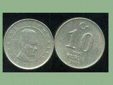 TURQUIE  10 yeni kurus 2005  ( bis )