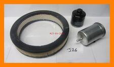 Service Kit: Oil Filter, Fuel Filter & Air Filter VW GOLF 1.6, Petrol
